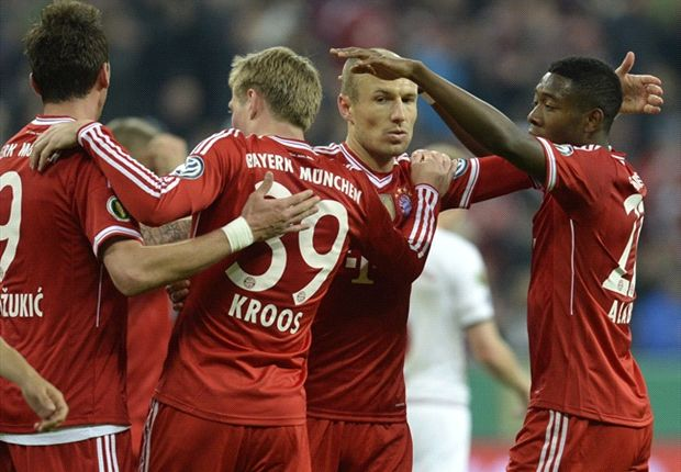 Bayern Munich 5-1 Kaiserslautern: Bavarians set up DFB-Pokal final showdown with Dortmund