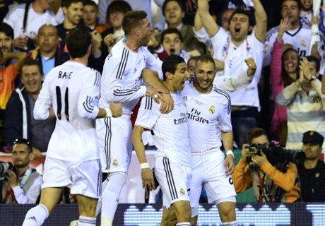 Real Madrid win Copa del Rey - LIVE