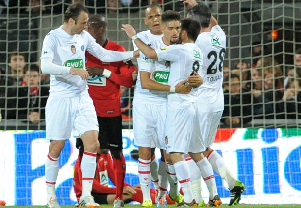 Guingamp 3-1 Mónaco: Sorpresa y desastre