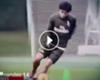Fernández comienza a entrenar con la pelota