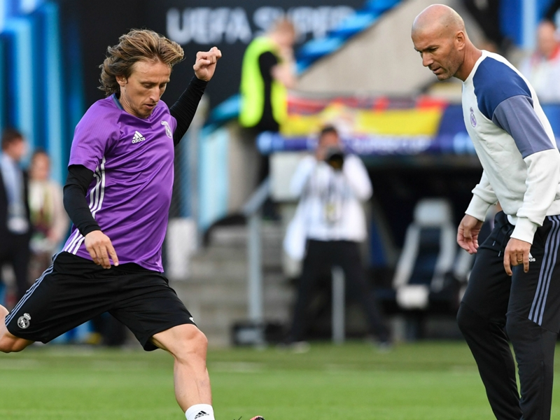 "Real Madrid, Luka Modric : ""Zidane me savait capable de remporter le Ballon d'Or"""