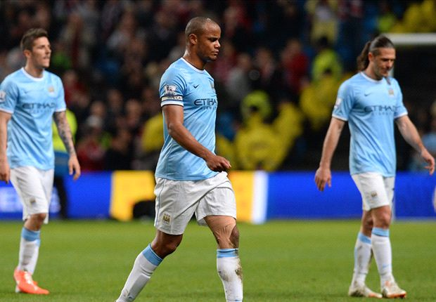 Out with a whimper: Manchester City