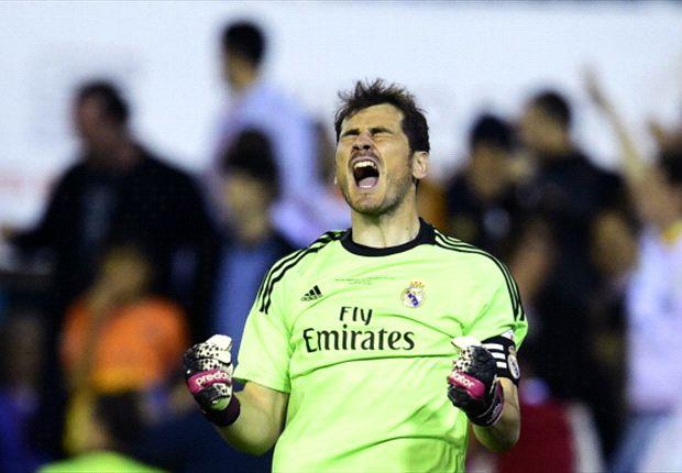Casillas, elegido para la Copa, la Champions... y quizás también la Liga
