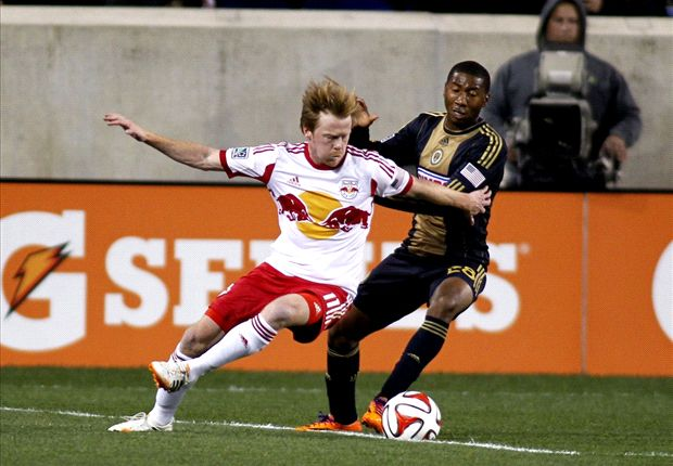 New York Red Bulls 2-1 Philadelphia Union: Ten-man Red Bulls hold out for win