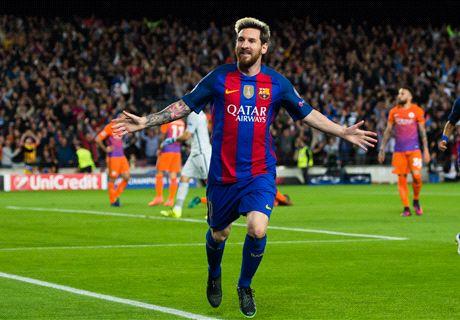 É um luxo ver Messi