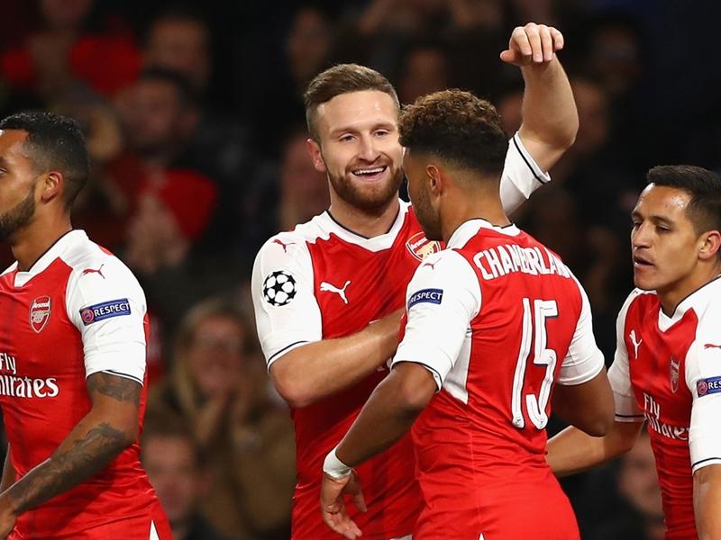 Champions, 3ª giornata - Arsenal forza sei, cinquina Real, poker Bayern
