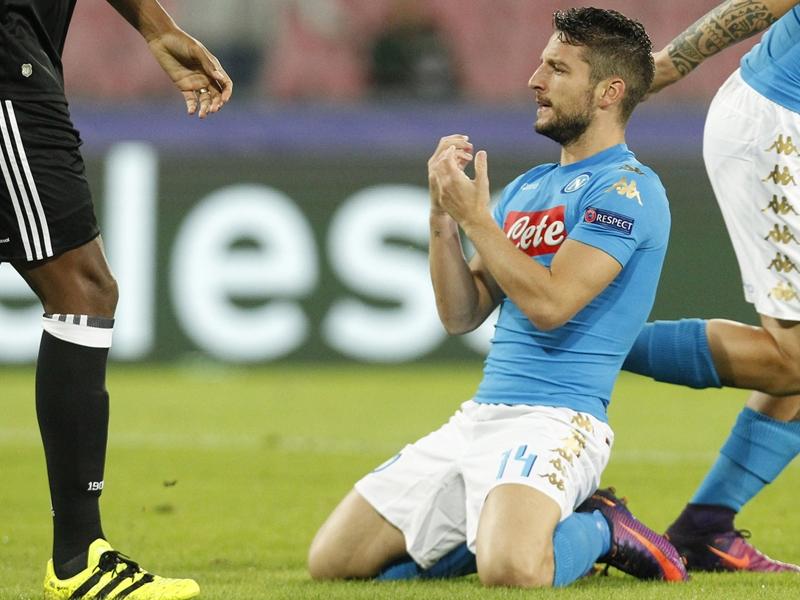 Mertens scuote il Napoli: Teniamo alta la testa