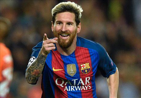A Messi le sientan bien la barba y el rubio