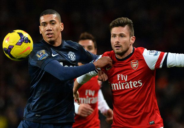 Arsenal to make shock move for Manchester United defender Smalling