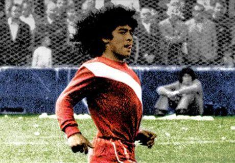 Remembering Maradona's debut