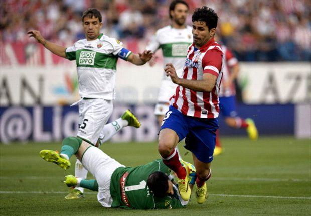 Atlético vergroot voorsprong op rivalen