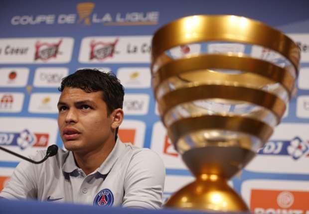 Thiago Silva demands PSG reaction in Coupe de la Ligue final