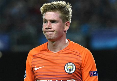 De Bruyne defends Pep's Barca tactics