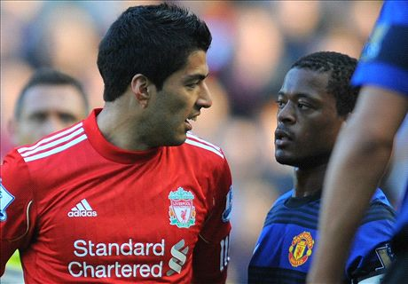 Evra makes peace with Luis Suarez