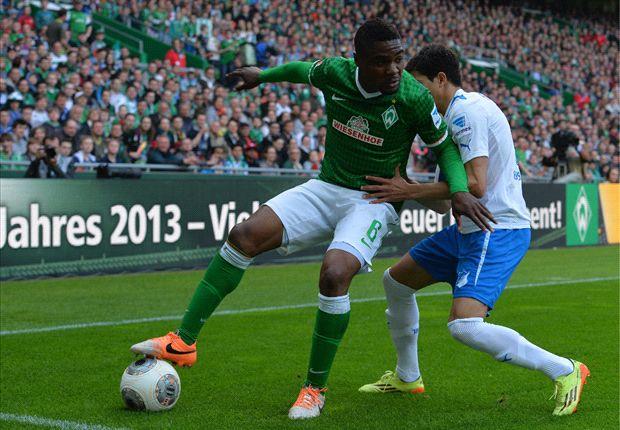 Cedrick Makiadi kämpfte sich mit Werder zum Sieg