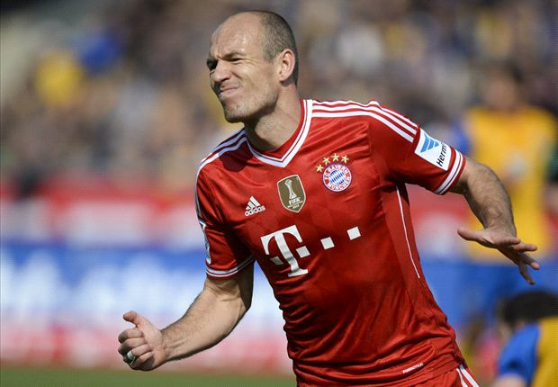 Robben on par with Messi & Ronaldo, says Sammer
