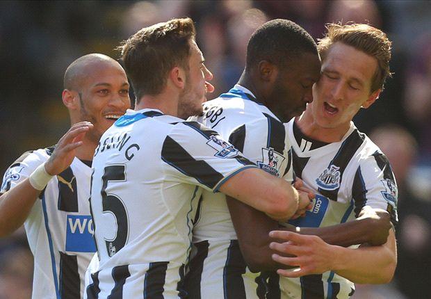 Newcastle's season not as bad as it seems, says Ameobi
