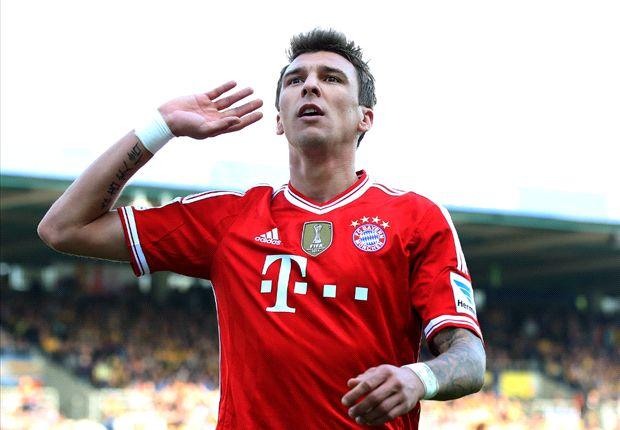 Mandzukic up there with Lewandowski, Ibrahimovic & Ronaldo, says Elber