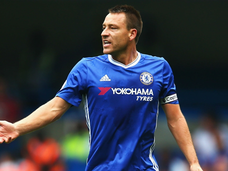 'John Terry had a brand new knife and fork brought to him every day'