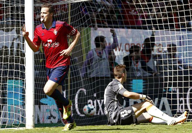 Los goles del Osasuna 1-1 Valencia (Vídeo)
