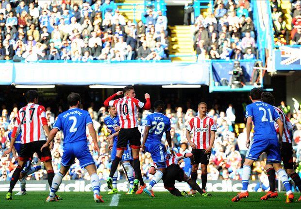 Chelsea 1-2 Sunderland: Golpazo de José Mourinho antes de enfrentar al Atlético de Madrid