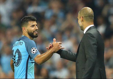 Guardiola attacks Aguero rift claims