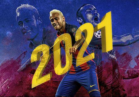 Neymar ya firmó hasta 2021 con el Barça