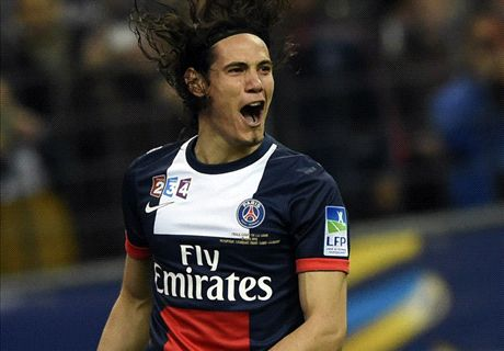 Transfer Talk: Utd open £64m Cavani talks