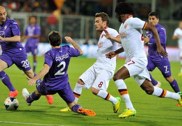 Fiorentina 0-1 Roma: Nainggolan keeps Giallorossi's fading title dream alive