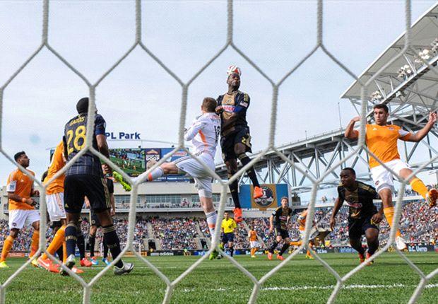 Philadelphia Union 0-0 Houston Dynamo: Visitors hold out for scoreless draw