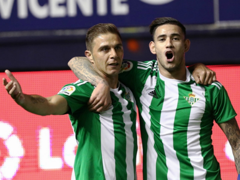 Liga, 9ª giornata - Colpo del Betis sul campo dell'Osasuna