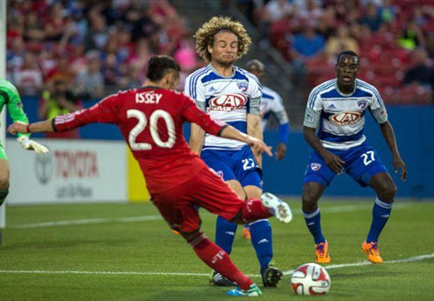 FC Dallas 2-1 Toronto FC: Substitute Perez nets winner for FCD