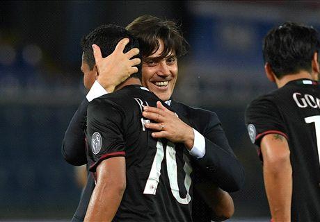 Il Milan vola, Montella all'esame Juve