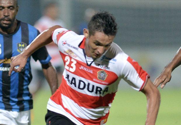 Gol Silvio Escobar gagal dipertahankan, sehingga Persepam Madura United berbagi angka dengan Putra Samarinda