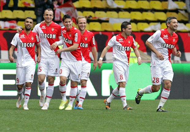 Monaco 1-0 Nice: Berbatov keeps slim title hopes alive for Ranieri's men