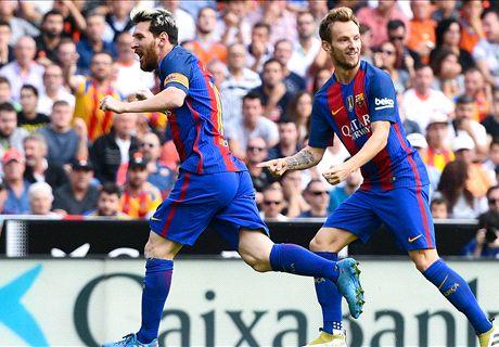 En vivo: Valencia CF 0-1 FC Barcelona