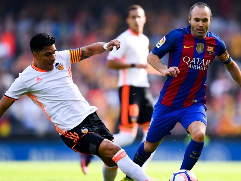 Les matches que va manquer Iniesta avec le Barça et l'Espagne
