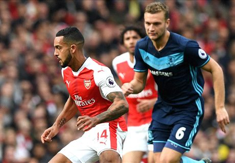 Middlesbrough maakt het Arsenal knap lastig