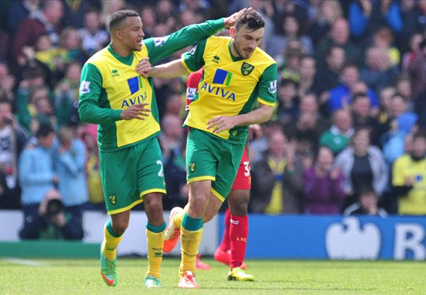 Norwich City: 2013-14 season in statistics