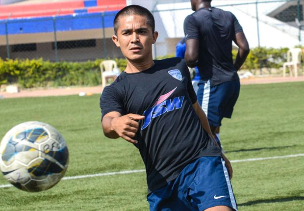 Sunil Chhetri in full gusto ahead of Match against Pakistan