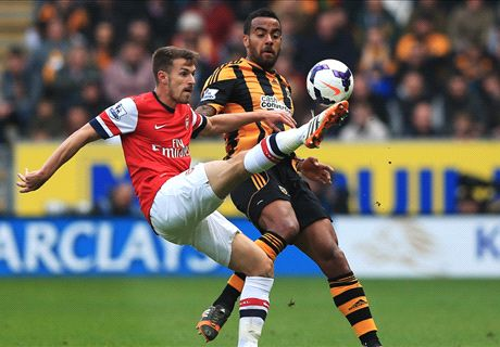 LIVE: Hull City 0-3 Arsenal
