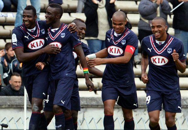 Bordeaux-Guingamp (5-1), Bordeaux et Diabaté cartonnent
