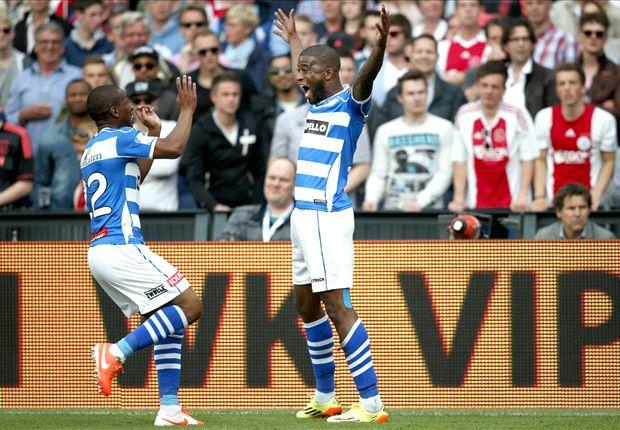 Sensationssieger Zwolle freut sich