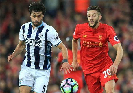 LIVE: Liverpool vs. West Brom
