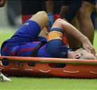 HAYWARD: Barca survives test but Iniesta injury is a big blow