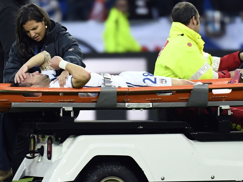 "OL, Valbuena : ""Le sort s'acharne"""