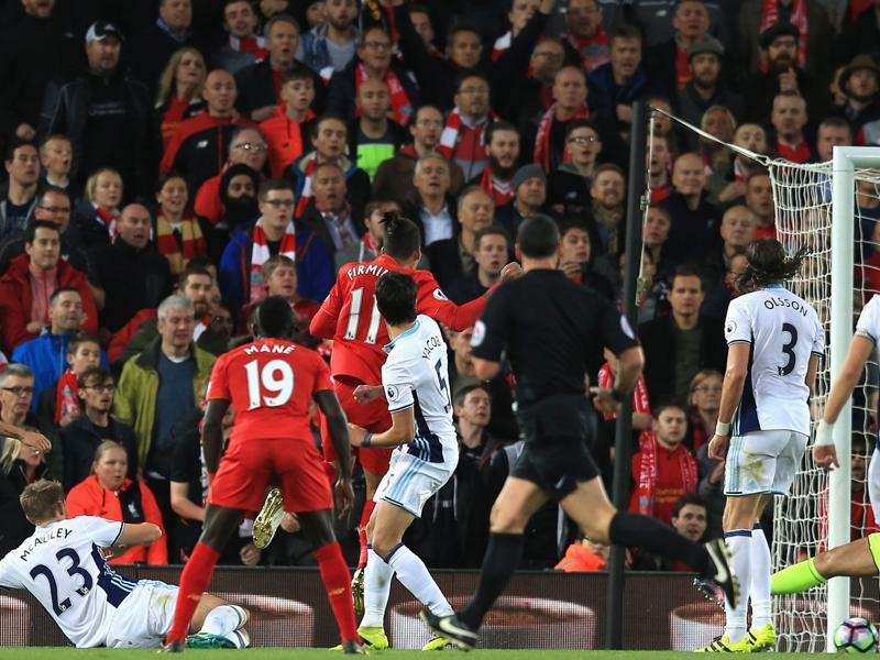 Liverpool-West Bromwich 2-1: Klopp si prende la vetta