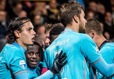 Twente legt druk bij de subtop