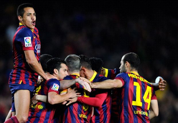 Valverde looks the part for brave Barcelona
