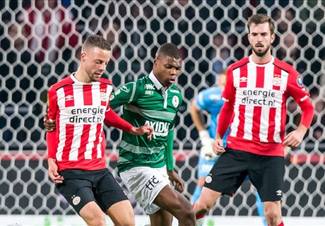 PSV boekt magere winst op Sparta
